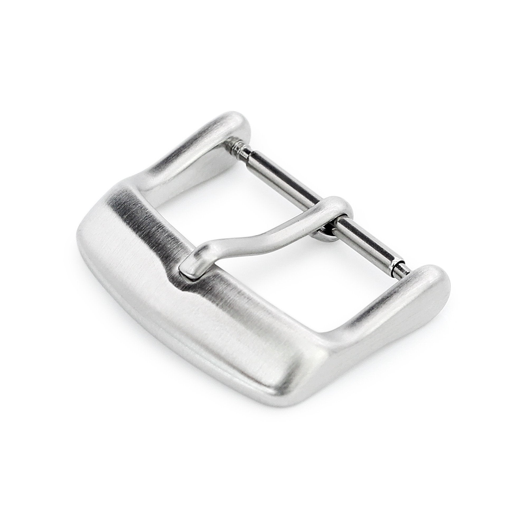 18mm 20mm #64 Sporty Tang Buckle for Leather Watch Strap Brushed Strapcode Buckles