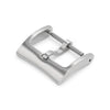 16mm 18mm 20mm #65 Classic Tang Buckle for Leather Watch Strap Brushed Strapcode Buckles