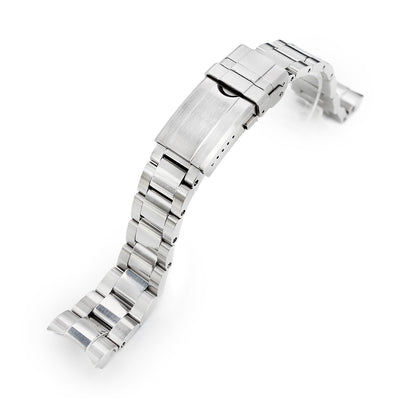 Beyond the Vintage Super Boyer Watch Bracelet for RX SUB 1680 in Raw Polished Turning Clasp Strapcode Watch Bands