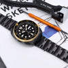Seiko Watch Prospex Black Series Limited Edition New Turtle SRPC49K1 Strapcode Watch Bands