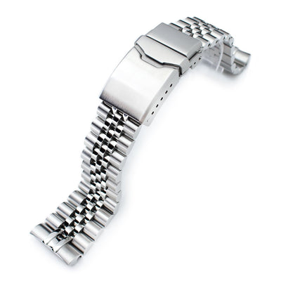 22mm Jubilee Watch Bracelet for Seiko New Turtles SRP777 & PADI SRPA21 Chamfer Brushed