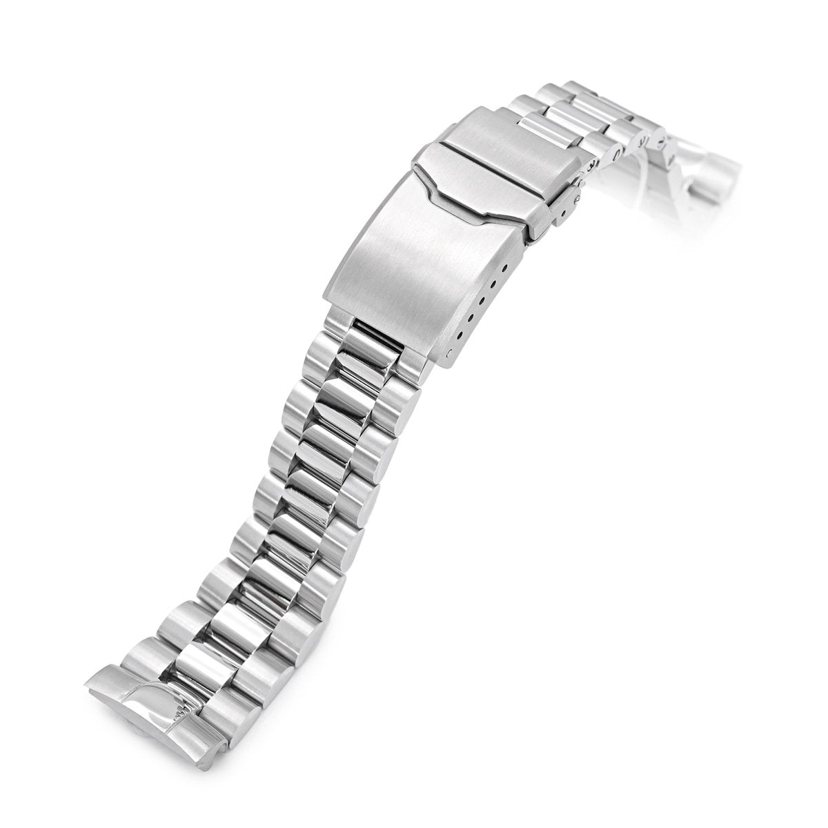 909b2f3d62c 22mm Endmill 316L Stainless Steel Watch Bracelet for Seiko New Turtles -  Strapcode