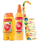 Avon Naturals Kids Amazing Apple Hair 3 Piece Set.