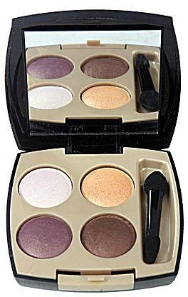 Avon 24K Gold Eye Shadow Quad - Gleam Gold