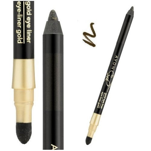Avon 24K Gold Eyeliner | Golden Black