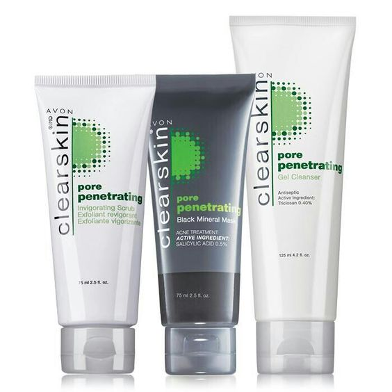 Avon Clearskin Pore Penetrating Trio.