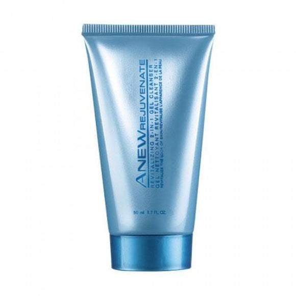 Avon Anew Rejuvenate Revitalizing Gel Cleanser Travel Size.