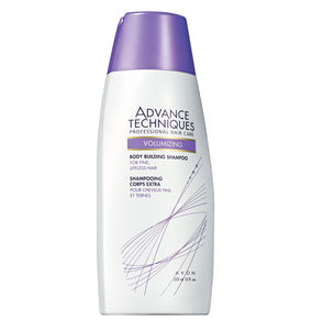Avon Advance Techniques Professional Hair Care Volumizing Body Building Shampoo