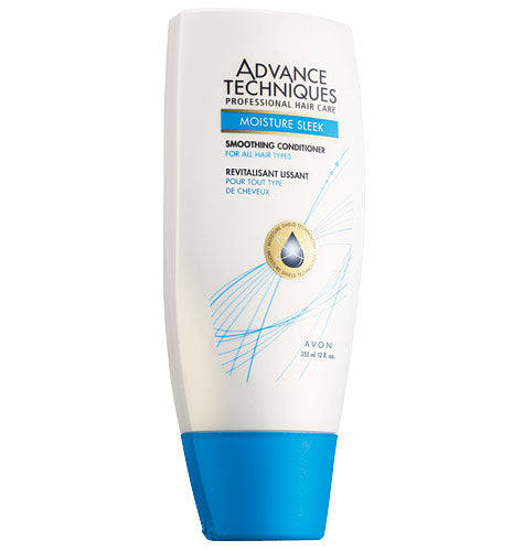 Avon Advance Techniques Moisture Sleek Smoothing Conditioner.