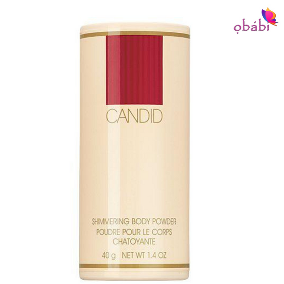 Avon Candid Shimmering Body Powder