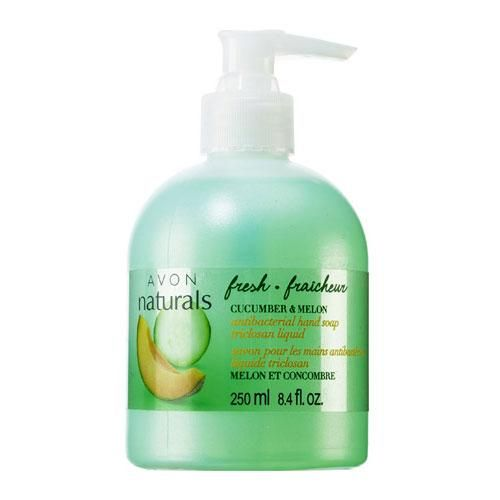 Avon Naturals Fresh Cucumber & Melon Antibacterial Liquid Hand Soap