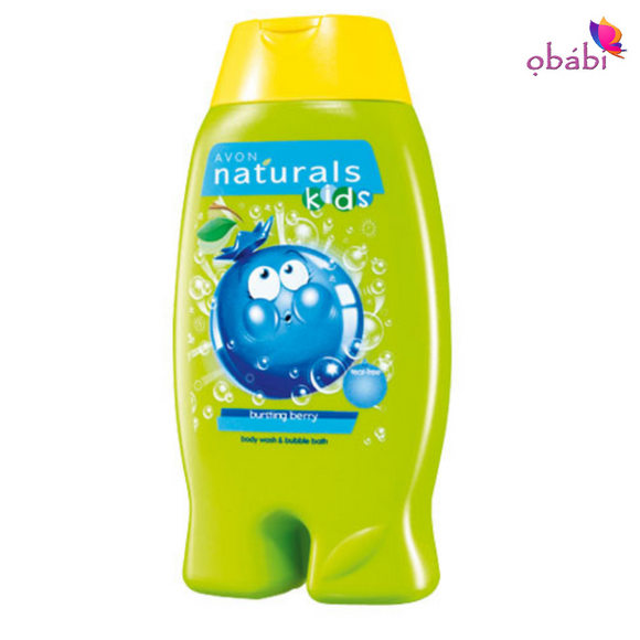 Avon Naturals Kids Busting Berry Body Wash & Bubble Bath
