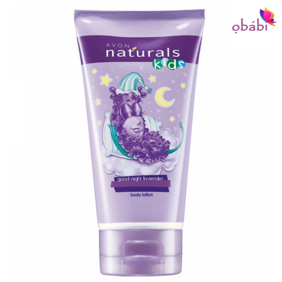 Avon Naturals Kids Good Night Lavender Body Lotion