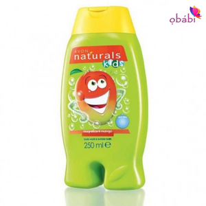 Avon Naturals Kids Magnificent Mango Body Wash & Bubble Bath