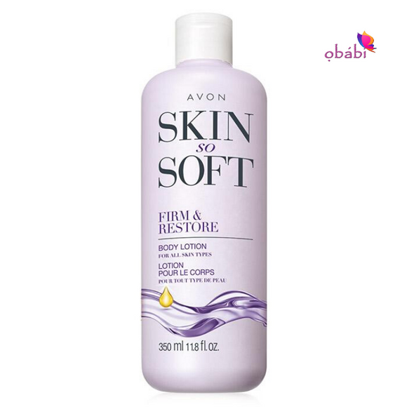 Avon Skin So Soft Firm & Restore Body Lotion 350ml