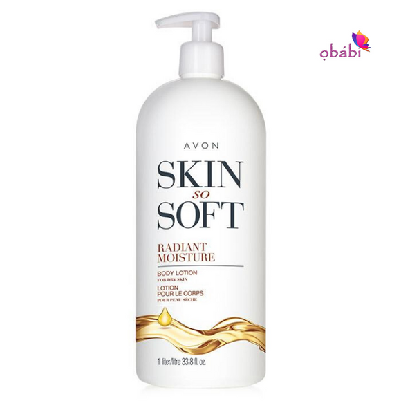 Avon Skin So Soft Radiant Moisture Body Lotion 1 Liter