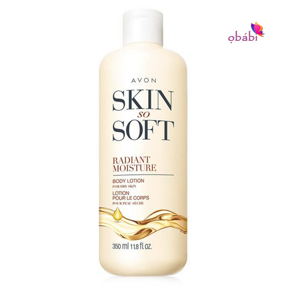 Avon Skin So Soft Radiant Moisture Body Lotion 350ml
