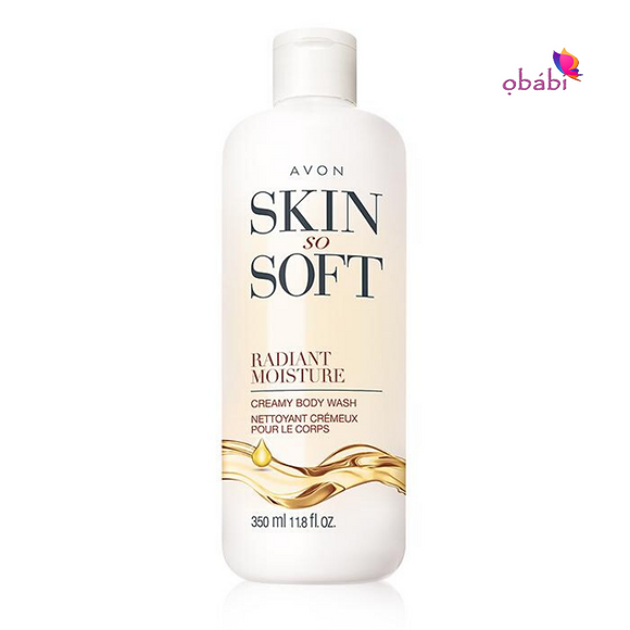 Avon Skin So Soft Radiant Moisture Creamy Body Wash 350ml