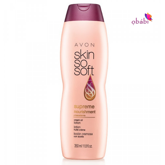 Avon Skin So Soft Supreme Nourishment Cream Oil Lotion | 350ml