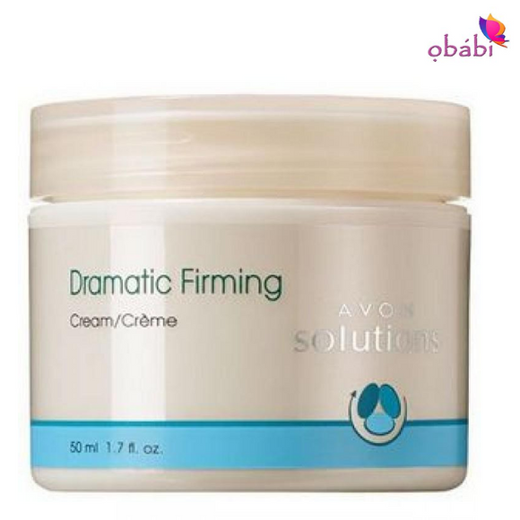 Avon Solutions Dramatic Firming Cream.