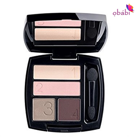 Avon True Color Eye Shadow Quad | Berry Love