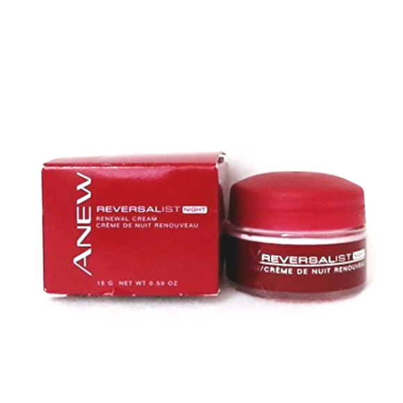 Avon Anew Reversalist Renewal Night Cream Travel Size.