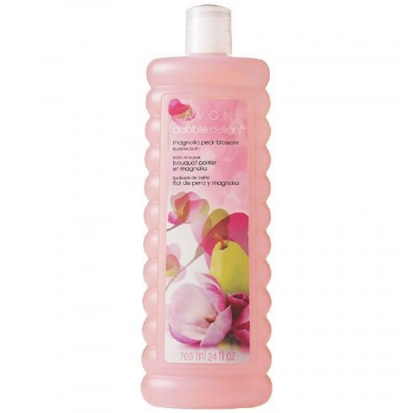 Avon Bubble Delight Magnolia Pear Blossom Bubble Bath 700ml.