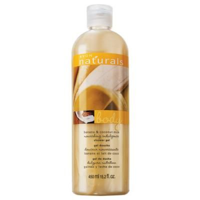 Avon Naturals Banana & Coconut Milk Shower Gel | 450ml