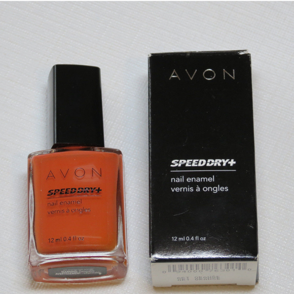 Avon Speed Dry+ Nail Enamel | Art Orange