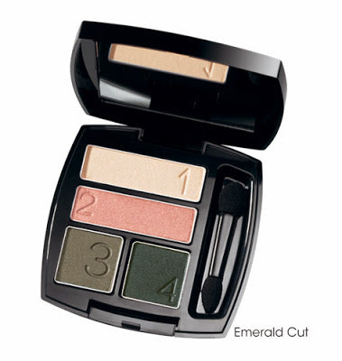 Avon True Color Eye Shadow Quad | Emerald Cut