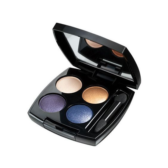 Avon True Color Eye Shadow Quad | Glitz and Glamour