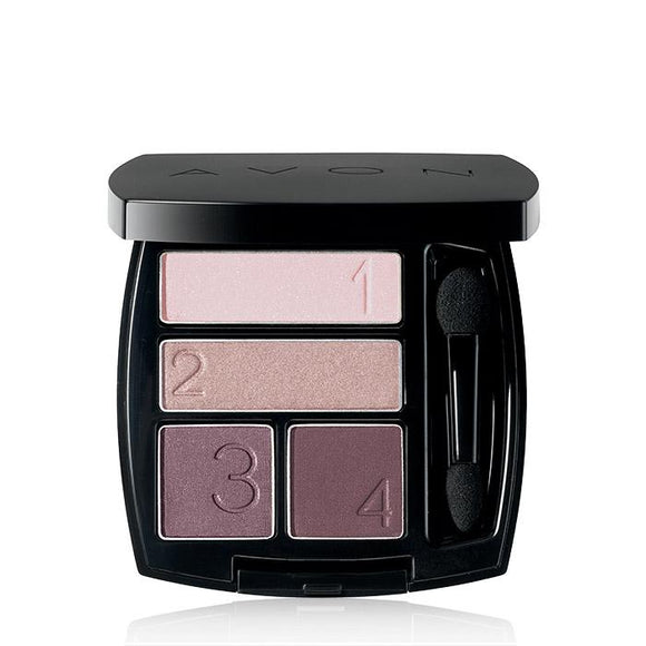 Avon True Color Eye Shadow Quad | Romantic Mauves