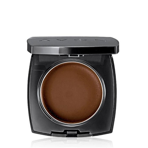 Avon Ideal Flawless Invisible Coverage Cream-to-Powder Foundation | Rich Expresso