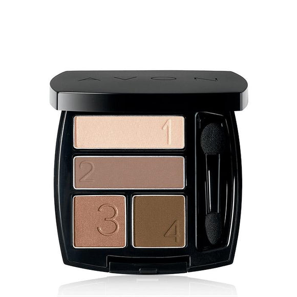 Avon True Color Quad Eye Shadow | Mocha Latte