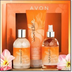 Avon Wonder Butterfly Petals Fragrance Collection