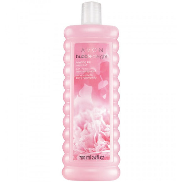 Avon Bubble Delight Blushing Kiss Bubble Bath 700ml.