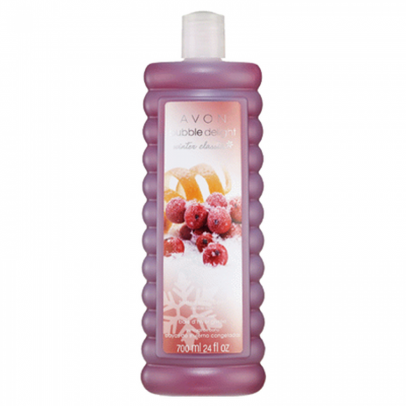 Avon Bubble Delight Winter Classics Frosted Winterberry Bubble Bath 700ml.