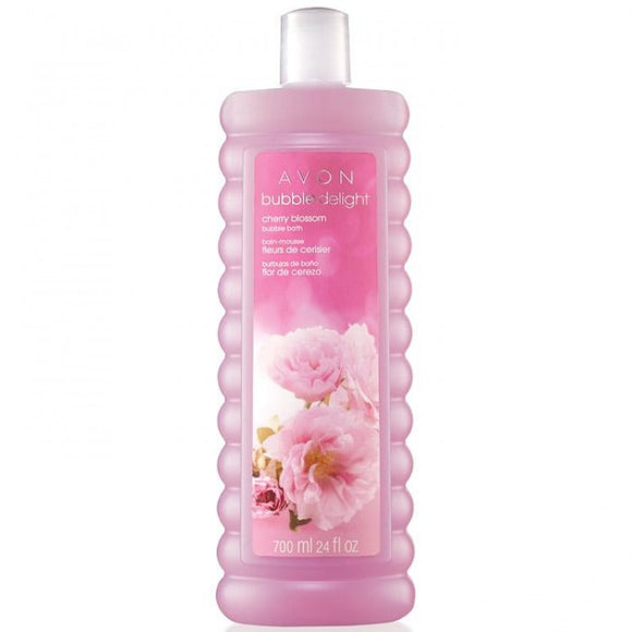 Avon Bubble Delight Cherry Blossom Bubble Bath 700ml.