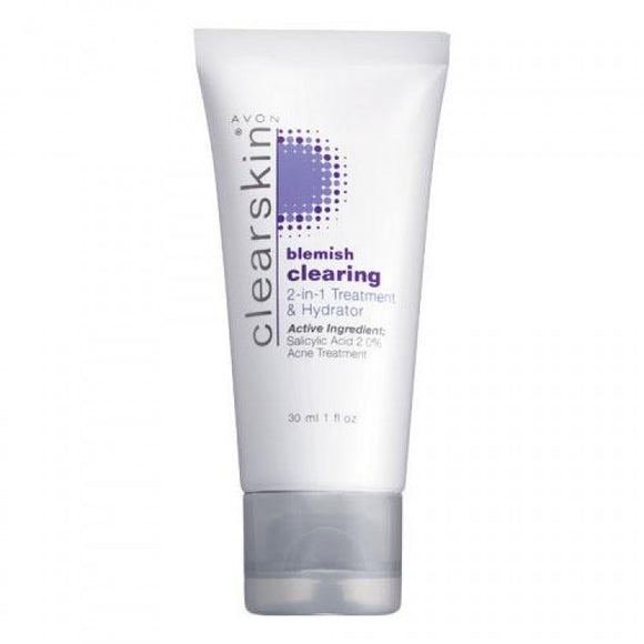 Avon Clearskin Blemish Clearing 2-in-1 Treatment & Hydrator | 30ml