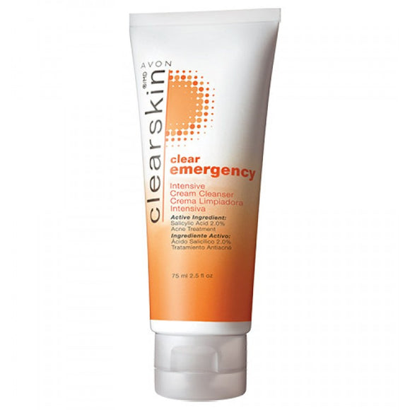 Avon Clearskin Clear Emergency Intensive Cream Cleanser