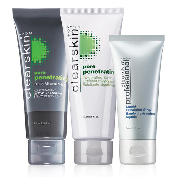 Avon Clearskin Pore-Penetrating 3-Piece Set