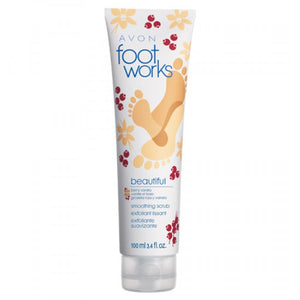 Avon Foot Works Beautiful Berry Vanilla Smoothing Scrub | 100ml