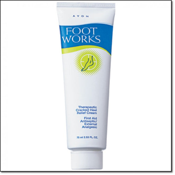 Avon Foot Works Therapeutic Cracked Heel Relief Cream - 50ml