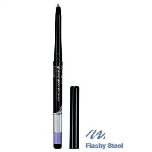Avon Glimmersticks Chromes Eyeliner | Flashy Steel