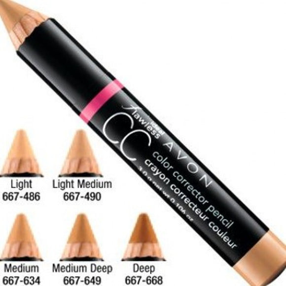 Avon Ideal Flawless CC Color Corrector Pencil Medium Deep