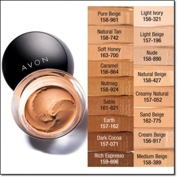 Avon Ideal Flawless Matte Mousse Foundation| Nutmeg