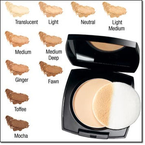 Avon Ideal Flawless Pressed Powder | Medium