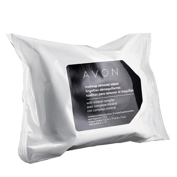 Avon Makeup Remover Wipes with Mineral Complex