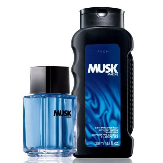 Avon Musk Marine Fragrance Duo