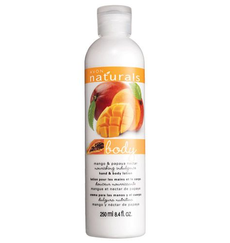 Avon Naturals Mango & Papaya Hand and Body Lotion